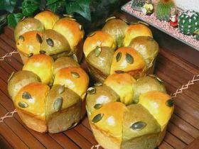 「かぼちゃみたいなリングパン」★ミルクチャン★ | お菓子・パンのレシピや作り方【corecle*コレクル】