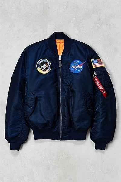 Blouson aviateur de la NASA MA-1 Alpha Industries