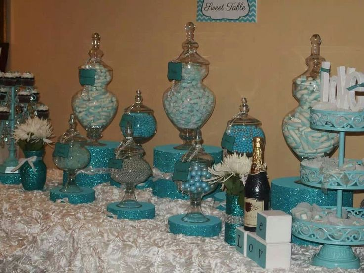 13 Best Images About Tiffany Blue Sweet Sixteen Ideas On Pinterest Tiffany Blue Dessert