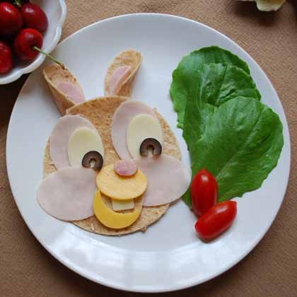 Thumper's Wrap | Cute Snacks for Kids: Healthy Character Recipes | Food