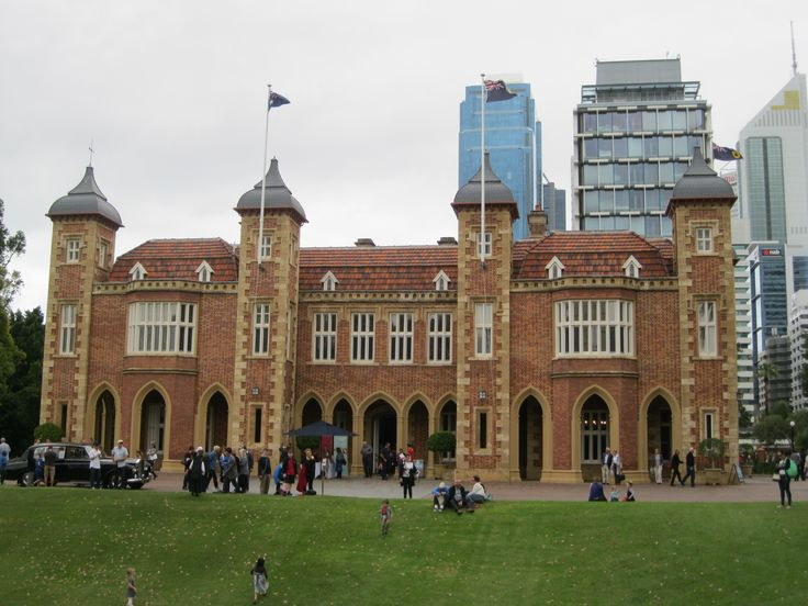 Government House,  St Georges Terrace, Perth