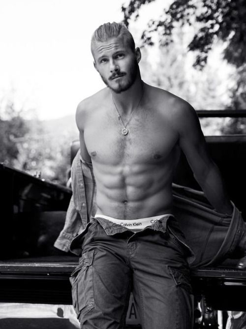 Alexander Ludwig photographed by Chris Haylett for THEYrep magazine.
