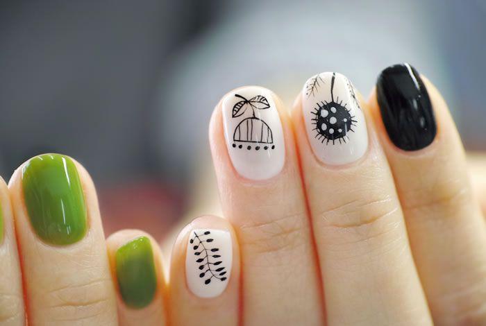 NAIL-COMMON: [新緑]WOOL STITCH nail