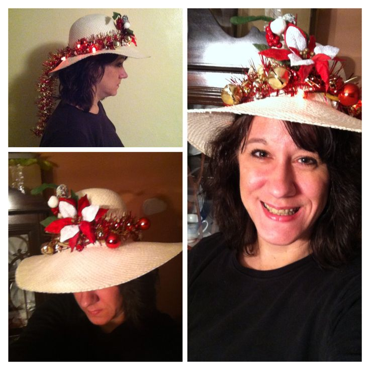 Crazy Decorated Hats: 45 Best Crazy Christmas Hat Images On Pinterest