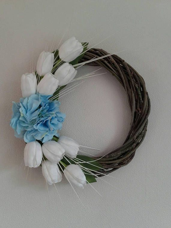 Check out this item in my Etsy shop https://www.etsy.com/listing/550345410/tulip-wreathfloral-wreathfront-door