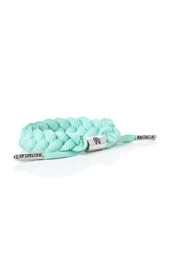 RastaClat Tiffany Teal BraceletRastaclat Tiffany, Bracelets Colors, Tiffany Teal, Tiffany Blue, Mint Rastaclat, Braids Bracelets, Blue Bracelets, Fresh Mint, Teal Bracelets