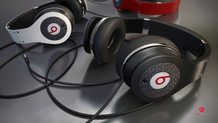 Beats by Dre rendered by Tim Feher.