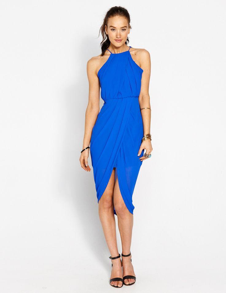 Charming Little Dress from Dotti in Cobalt Blue