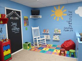 This is one of my favorites!  Chalkboard paint on the doors!  The special area for the changing and sleeping area is cool too
