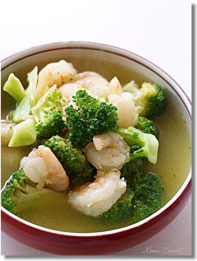 むきエビとブロッコリーの食べるスープ by *Manis*さん | レシピ ...