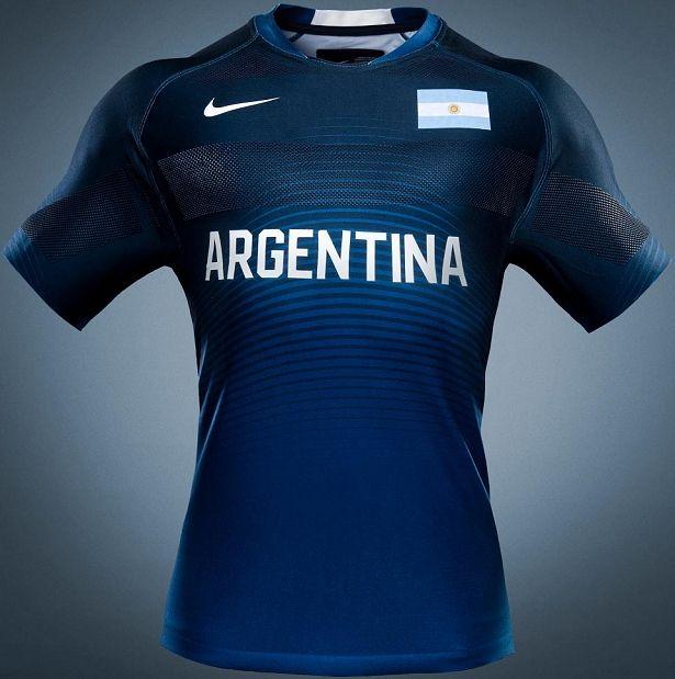 Nike lança uniformes de rugby da Argentina para Rio 2016 - Show de Camisas