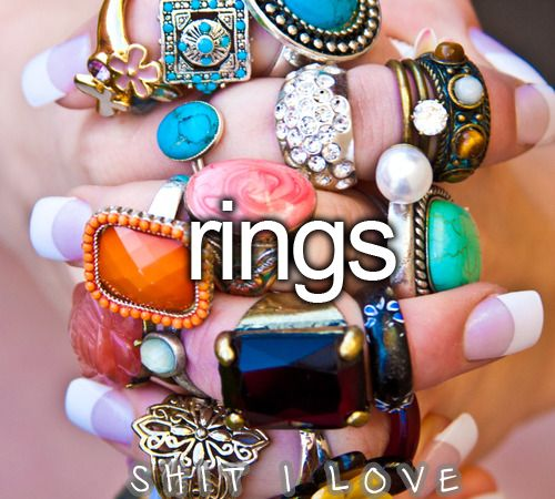 Awww yeah!Statement Rings, Fashion, Cocktails Rings, Style, Cocktail Rings, Fingers, Vintage Rings, Costumes Jewelry, Accessories
