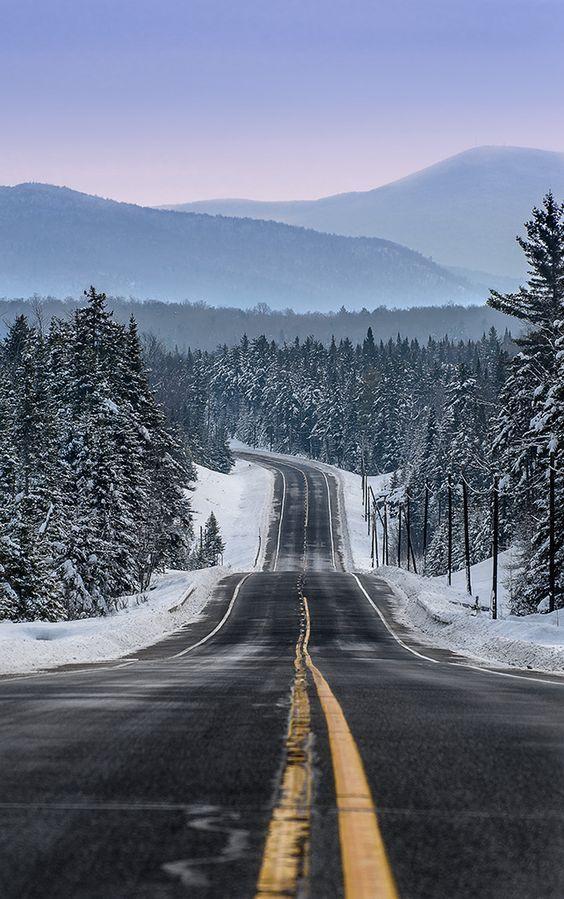 Blue Mountain Road - New York