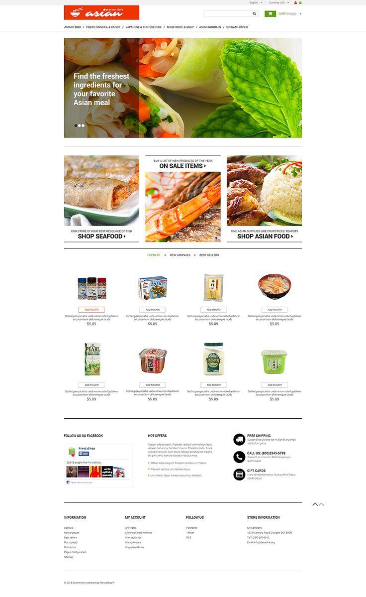 384 best Stunning PrestaShop Themes images on Pinterest | E commerce ...