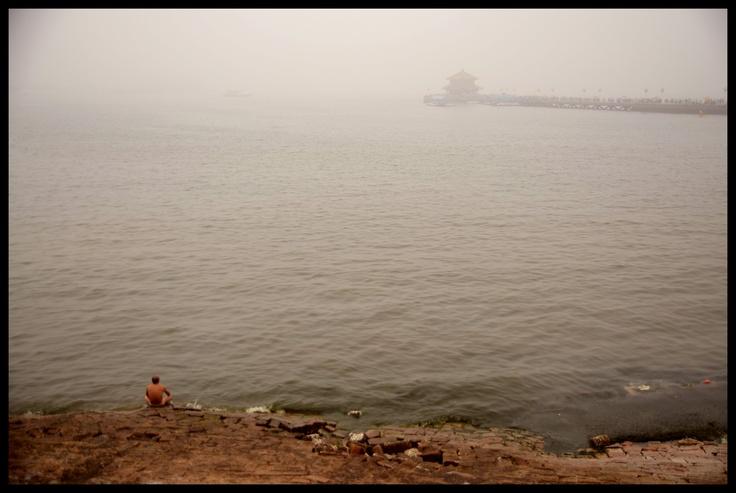Foggy day in Qingdao