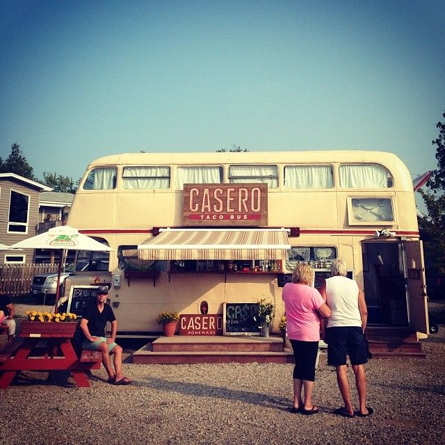 A taco bus in Ontario! Photo courtesy of emilybailliephoto on Instagram. #howisummer