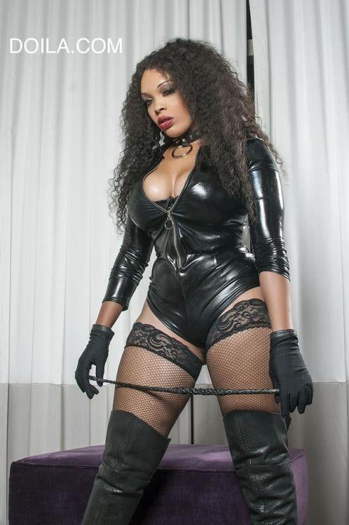 Hot ebony mistress