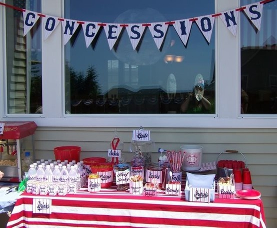 Baseball party party-ideas