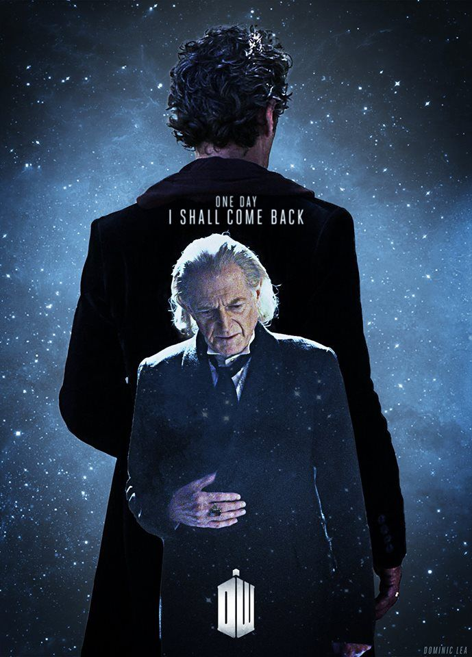 """Yes, I shall come back."" #DoctorWho I'm seeing a lot of rumors about the 1st Doctor returning??"