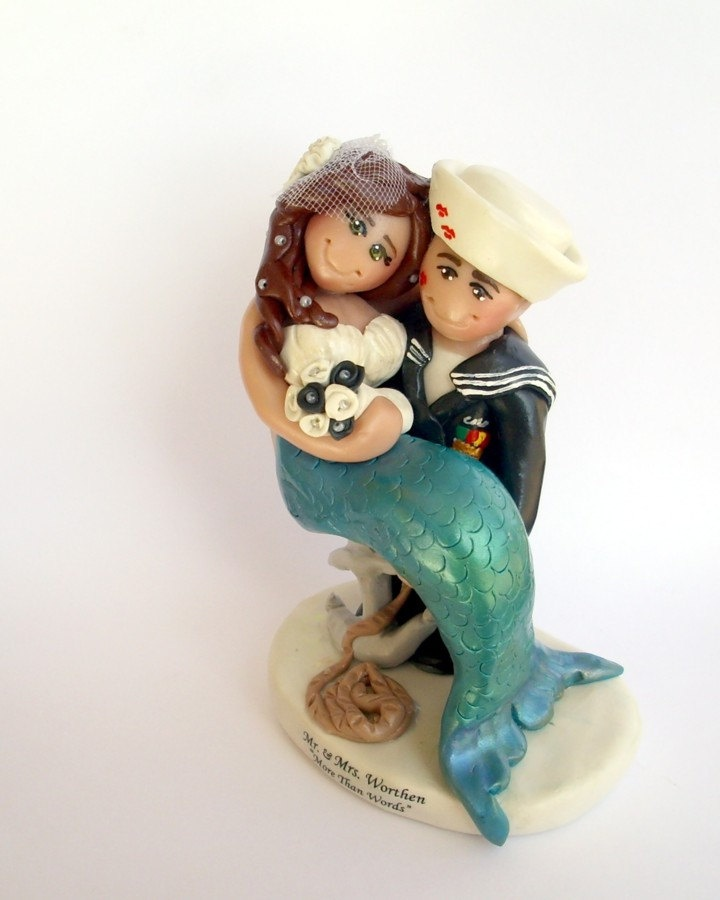 sailor and mermaid wedding cake topper 25 best ideas about sailor wedding on 19618