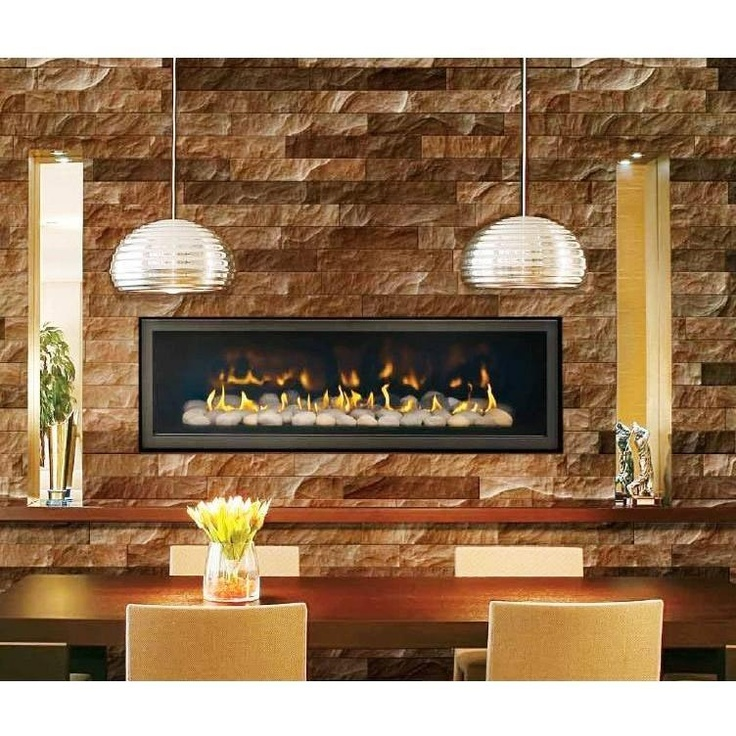 Rustic And Modern Fireplace: The Modern Rustic Fireplace.