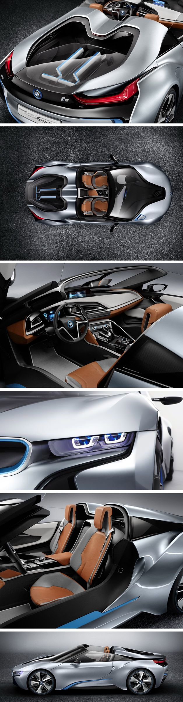 BMW i8 Spyder, very nice.