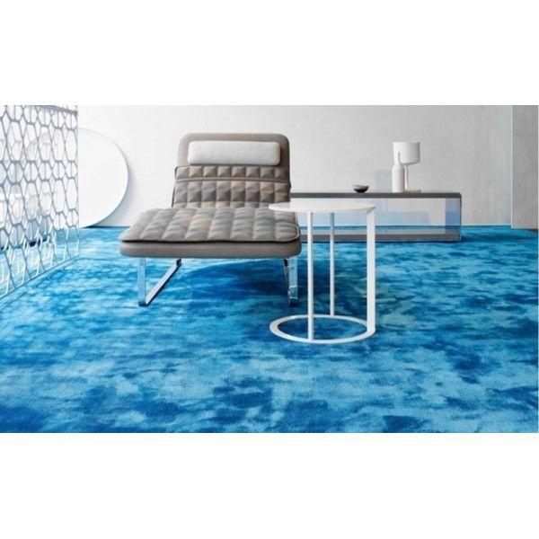 Zoya Home Handloom Banana Silk Carpet 4 x 6 Feet Blue