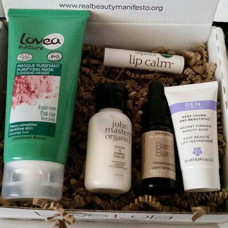 Love Lula Beauty Box August 2015