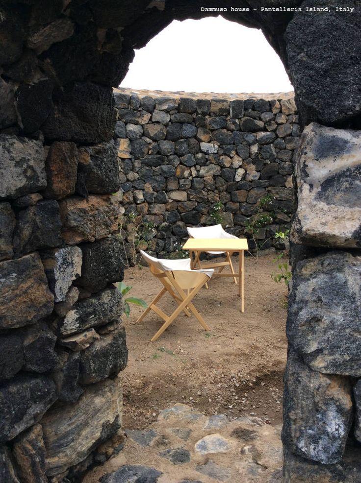 Dammuso house– Pantelleria Island, Italy | Fionda by Mattiazzi