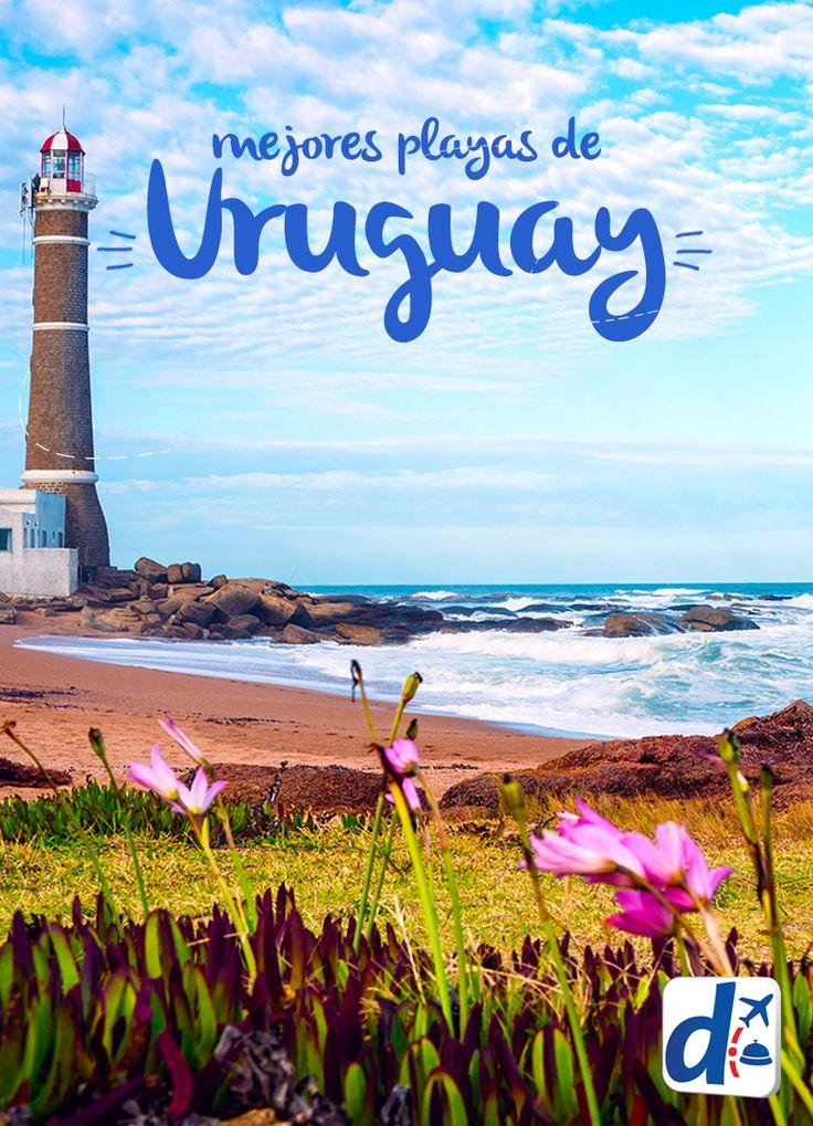 Las #playas de #Uruguay están entre las más lindas de América del Sur y son un buen lugar donde veranear!! Descubrelas aquí!! #Trip
