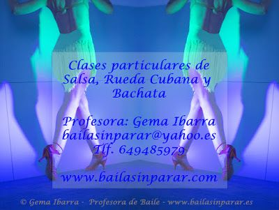 Baile Nupcial en Madrid Clases particulares: Clases particulares de salsa, rueda cubana, bachat...