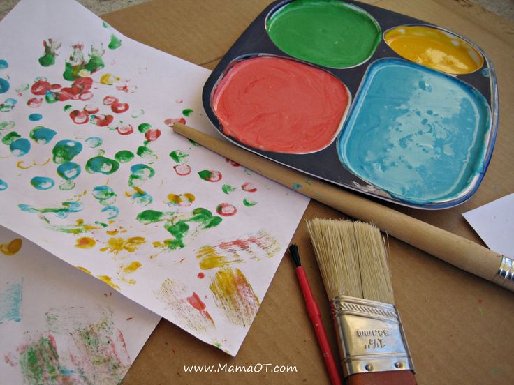 Homemade Edible Finger Paint (No Cornstarch Needed)