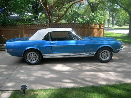 1968 Mustang Shelby GT500KR - Very rare, numbers matching! For sale.