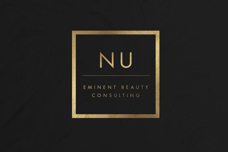 Nu Beauty Consultants Logo Design   Luxury Beauty Brand Logo     by Lena Elkhatib Creative