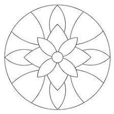 Image result for plantillas de mandalas para vitrales