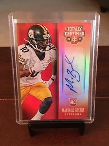 2014 Totally Certified Rookie Signatures Mirror Red Martavis Bryant #142 22/25