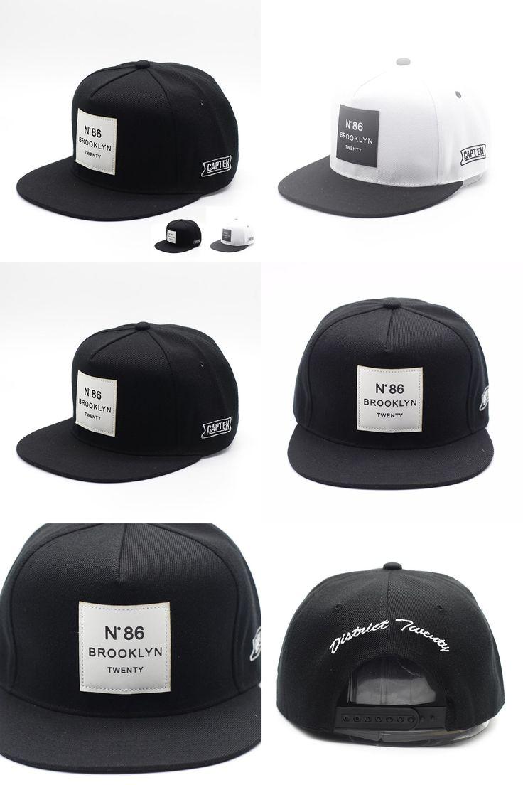 [Visit to Buy] 2017 Gorras Planas Hip Hop Cap Letter BROOKLYN Mens Sun Hat Baseball Caps Brand WUKE Women Hats Black Snapbacks Caps Adjustable #Advertisement