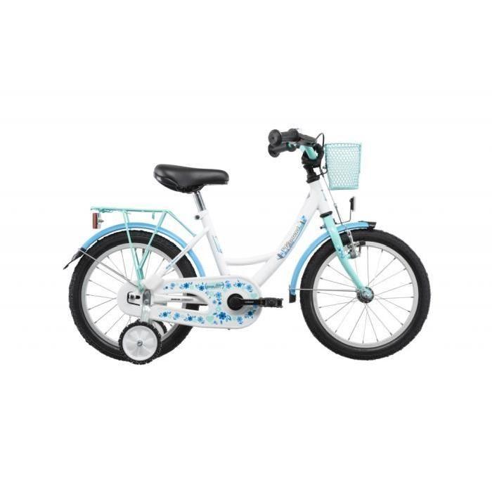 Vermont Girly - Vélo enfant 16 pouces - bleu - Vermont Girly - Vélo enfant 16 pouces - bleuUtilisation: loisirs - Poids: 11.4 env. kg - Taille du vélo: 16 pouce(s) - Poignées:… Voir la présentation