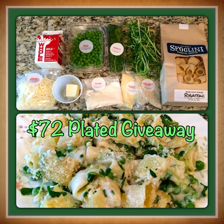 GIVEAWAY - Plated Meal Kit Worth $72