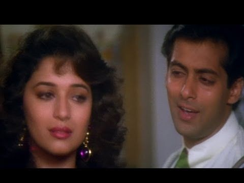 Mujhse Judaa Hokar - Hum Aapke Hain Koun - Salman Khan & Madhuri - Best Romantic Song - YouTube