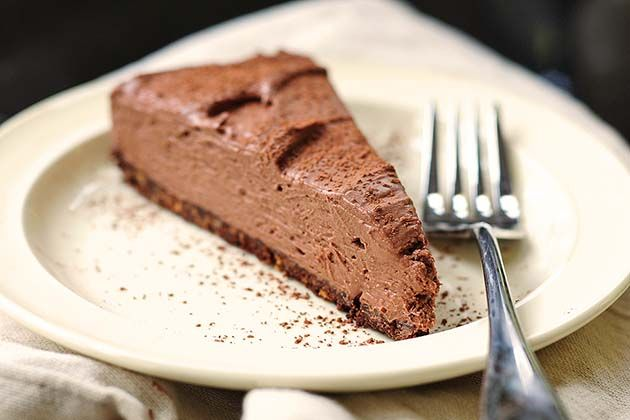 {Tasty Kitchen Blog} No-Bake Chocolate Cheesecake