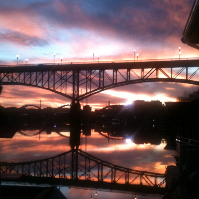 Knoxville, TN: Sunsets Knoxvill, Spectacular Pictures, Colors, Beautiful Places, Beautiful Sunsets, Beautiful Knoxvill, Sweet Home, Sunsets Sunri, Architecture Bridges