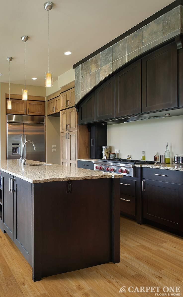 Vinyl floors are not what they used to be luxury vinyl for Luxury kitchen flooring