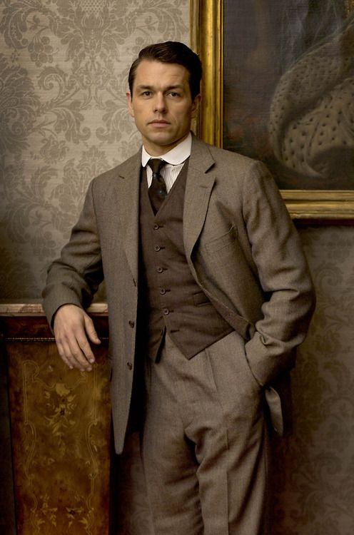 What's Mary up to with Charles Blake? Downton Abbey Season 5, episode 4.
