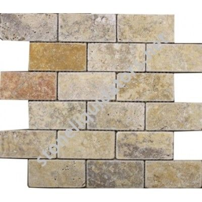 2 Quot X 4 Quot Scabos Travertine Subway Tile Tumbled Wall Tile
