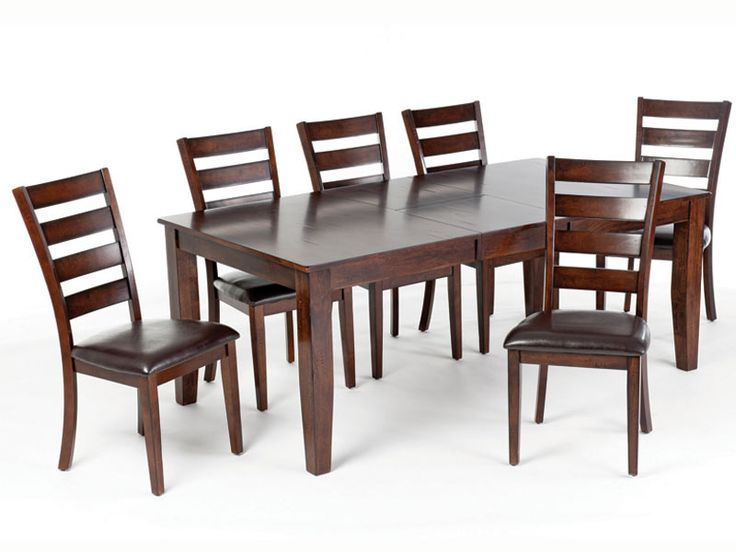 Kona Collection  Solid Hardwoods, Brushed Raisin Finish, Butterfly Leaf  Table From Don Willis Furniture. Find This Pin And More On Casual Dining  Room ...