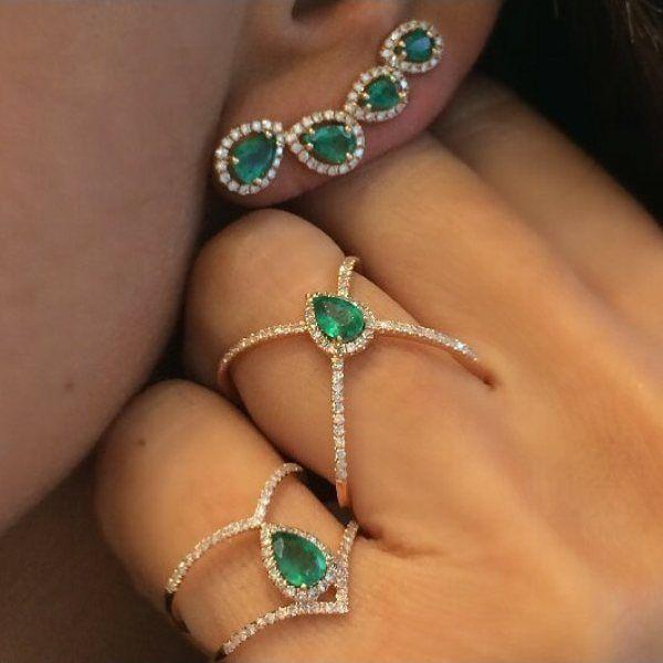 #djulajewelry  #emeralds #beauty