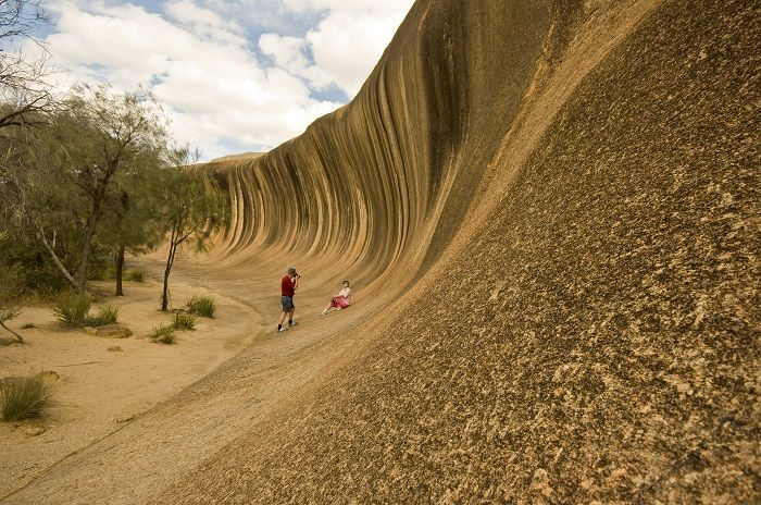 Wave Rock is truly a unique rock formation