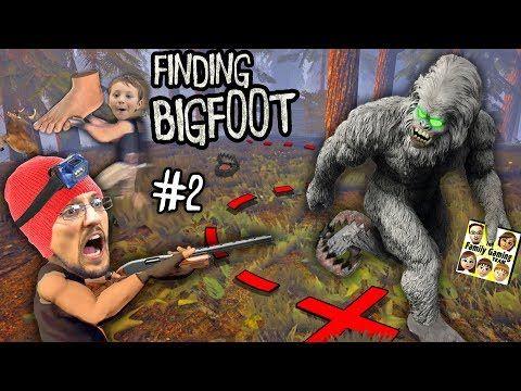 BIG FOOT RETURNS! MONSTER HUNTER & TRACKER GAMEPLAY! + DOOFY DEER (FGTEEV FINDING BIGFOOT #2) - YouTube