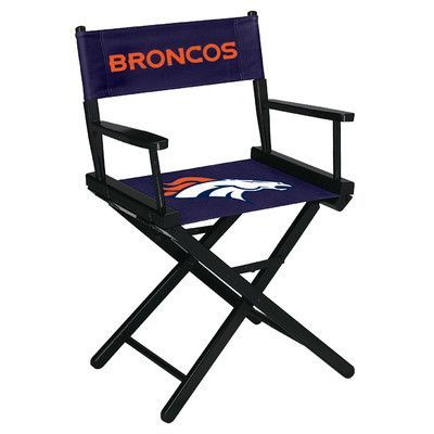 Imperial NFL Table Height Director Chair NFL Team: Denver Broncos